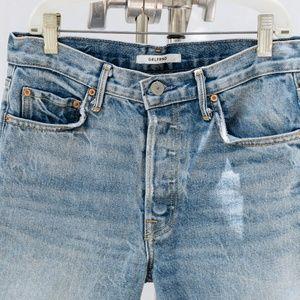 GRLFRND Jeans 27: Vintage wash/ Slim Leg